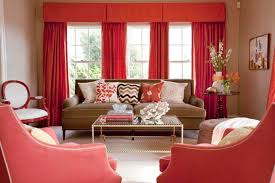 sofa decorative red sofa combination living room color