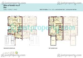 50 Square Meters Lantana Villas Floor Plans Justproperty Com