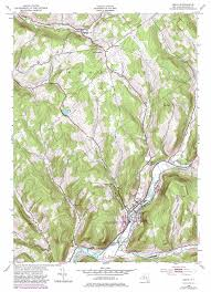 United States Topographical Map by Delhi Topographic Map Ny Usgs Topo Quad 42074c8
