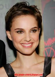 haircut for oval face straight ha natalie portman short hairstyles