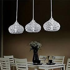 lightinthebox chandelier with 3 lights in crystal flush mount