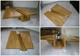 Table Chene Massif Moderne by Table Basse Chene Massif Blanchi U2013 Phaichi Com