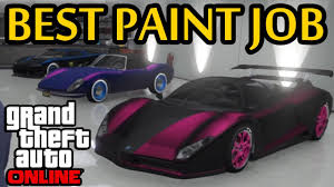 gta 5 best paint job how to pearlescent on matte youtube