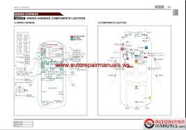 ssangyong actyon c145 2008 07 service manuals and electric wiring