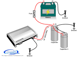 how to install car audio capacitors learning center sonic