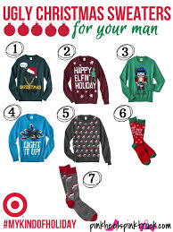 light it up sweater target ugly christmas sweaters for your man mykindofholiday pink heels