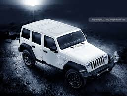 white jeep sahara 2018 jeep wrangler looks ready to rock in latest renderings
