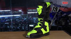 mx motorbike boots thor blitz mx motorcycle boots review video gallery