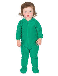 forrest green infant fleece footed pjs infant pajamas one
