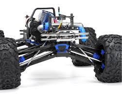 nitro monster truck rc revo 3 3 4wd rtr nitro monster truck w tqi blue by traxxas