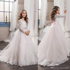 communion gowns kids prom graduation holy communion dresses 2017 half