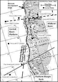 Permian Basin Map Lower Permian Wolfcampian Carbonate Shelf Margin And Slope
