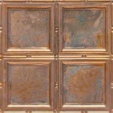 Decorative Ceiling Tile by Old Farmhouse Favorite Copper Ceiling Tile 24