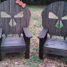 Wooden Skull Chair Best Cool Chairs Products On Wanelo