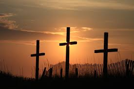 wooden crosses three wooden crosses awesome the three wood flickr