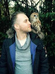 Owl Shoulder - just casually got an owl on my shoulder picture of turbary woods