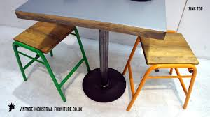 Zinc Top Bistro Table Zinc Top Bistro Table