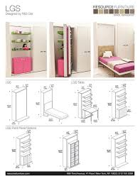 Wall Bed Sofa Systems Best 25 Murphy Furniture Ideas On Pinterest Fold Up Table