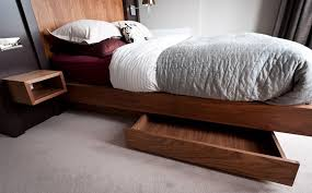 Platform Bed Drawers Make The Most Of Your Bedroom With Bed Drawers