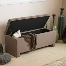Storage Ottoman Gray by Ottoman Appealing Fabric Ottoman With Storage Breathtaking Decor