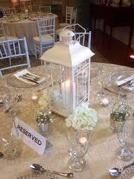 white lantern centerpieces lantern centerpiece coversclassy covers