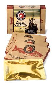 salmon gift basket seabear salmon smoked salmon trio gift box