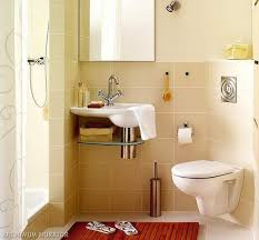 small bathroom interior design ideas toilet attached to wall and small shelf sink blissful