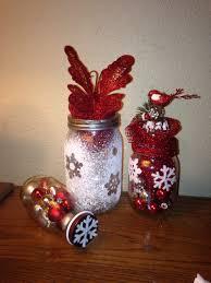Home Made Xmas Decorations Home Made Christmas Decorations I Made For Cheap Mason Jars And