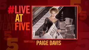 broadway com liveatfive with chicago u0027s paige davis youtube