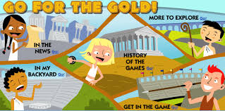 go for the gold the olympic student activity scholastic