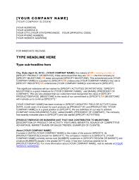 press release company has reached a milestone template u0026 sample