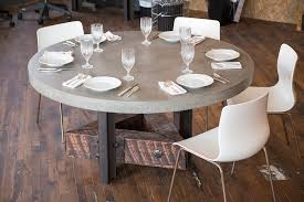 triangle dining conference table no 39 concrete top custom