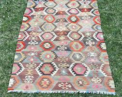 Colorful Aztec Rug Area Rug 6x8 Etsy