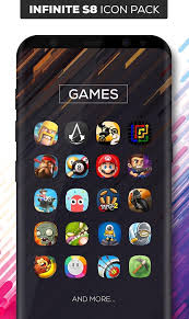 atom launcher apk infinite s8 icon pack apk v1 2 1 paid for android