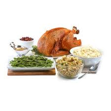 southern roasted turkey dinner for 4 highland whole
