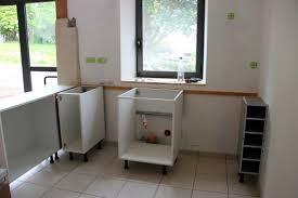 meuble cuisine a poser sur plan de travail fixer plan de travail sur meuble etourdissant cuisine et pose