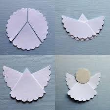 homemade christmas decoration u2013 paper angel u2013 fast and easy http