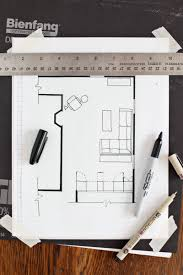 how to draw a floorplan scale on graph paper