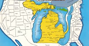 Map Of Southern Michigan by 6 Maps Of Michigan That Are Just Too Perfect And Hilarious