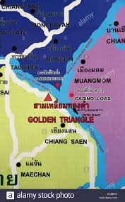 Mekong River Map Laos Map Stock Photos U0026 Laos Map Stock Images Alamy