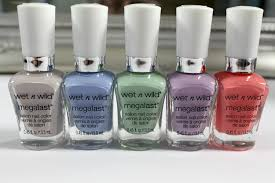 wet n wild megalast nail polish review and swatches