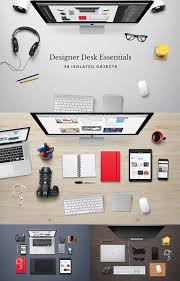 Graphic Designer Desk Free Psd Mockup Designs 25 Mockups Freebies Graphic Design