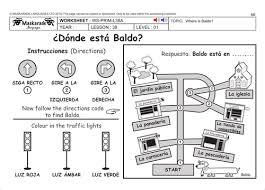 spanish ks2 level 1 directions by maskaradelanguages teaching