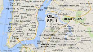 Queens Ny Map This New York City Map Will Offend Pretty Much Everyone Curbed Ny