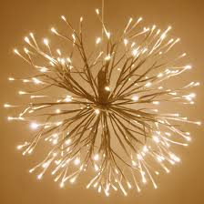 twinkle lights starburst lighted branches with warm white led twinkle lights 1 pc