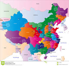 Chongqing China Map by Map Of China Stock Photography Image 6572802