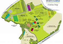 Map Of Dublin Ireland National Sports Campus Hotels Sports Hotel Blanchardstown