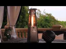 Lava Heat Patio Heaters Lava Heat Mini Tabletop Z2 Patio Heater Video Gallery