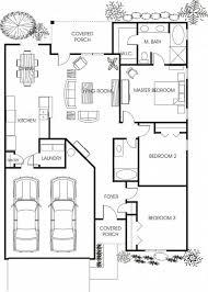 Minimalist Floor Plan Apartment Garage Floor Plans Room Design Ideas 2 Car Garage