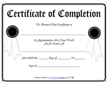 free printable internship certificates of achievment templates